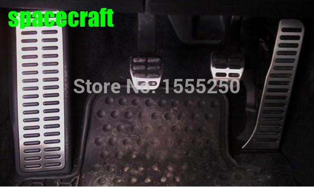 Auto gas accelerator pedal, footrest and brake pedal for volkswagen vw passat B6 B7 CC,MT and AT, free shipping,auto accessories free ship turbo k03 29 53039700029 53039880029 058145703j n058145703c for audi a4 a6 vw passat 1 8t amg awm atw aug bfb aeb 1 8l