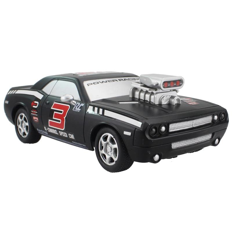 Coche Del RC 4CH Para Dodge Challenger de Alta Velocidad de Carreras de Coches Modelo de Vehículo Off-Road Coche de Control Remoto Juguete Electrónico modelo