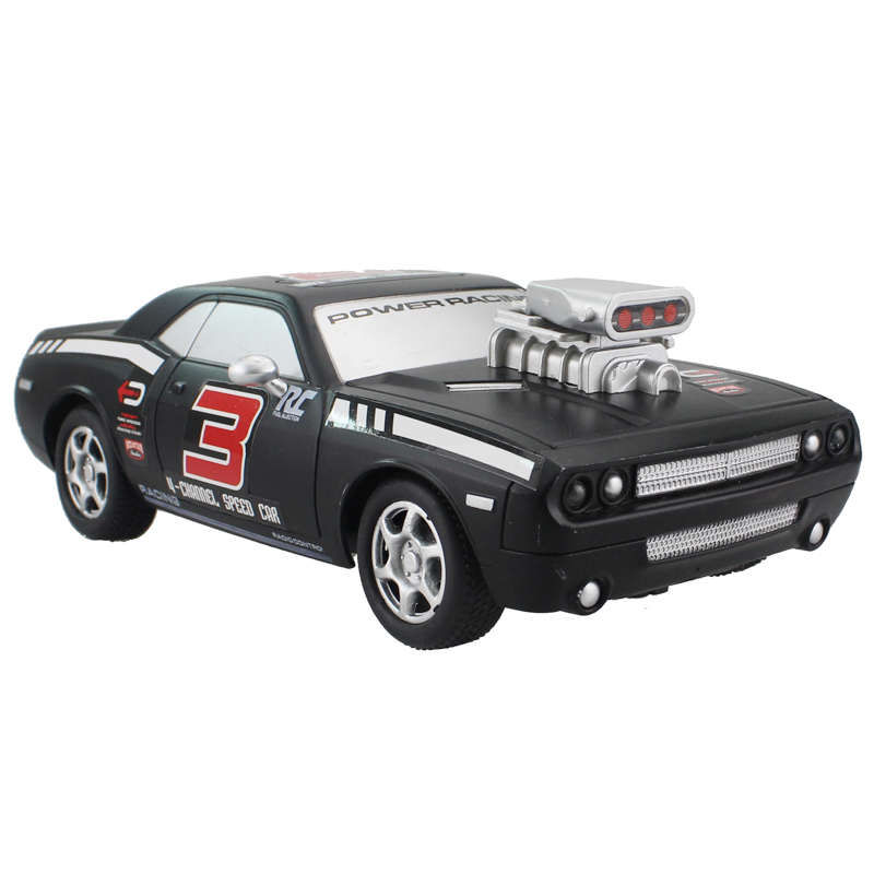 Rc Car For Dodge Challenger 4ch High Speed Racing Car Remote Control