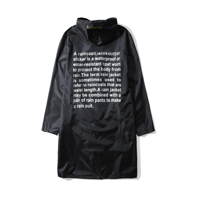 Vetements Letter Printed...