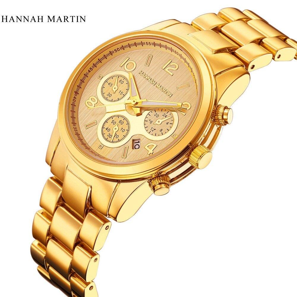 ff606586996 Homens Negros Da Moda Casual Mens Vestido Relógio de Pulso Das Mulheres Top  Marca de Luxo Famoso relógio de Quartzo Reloj Hombre Relogio De Quartzo- Relógio ...