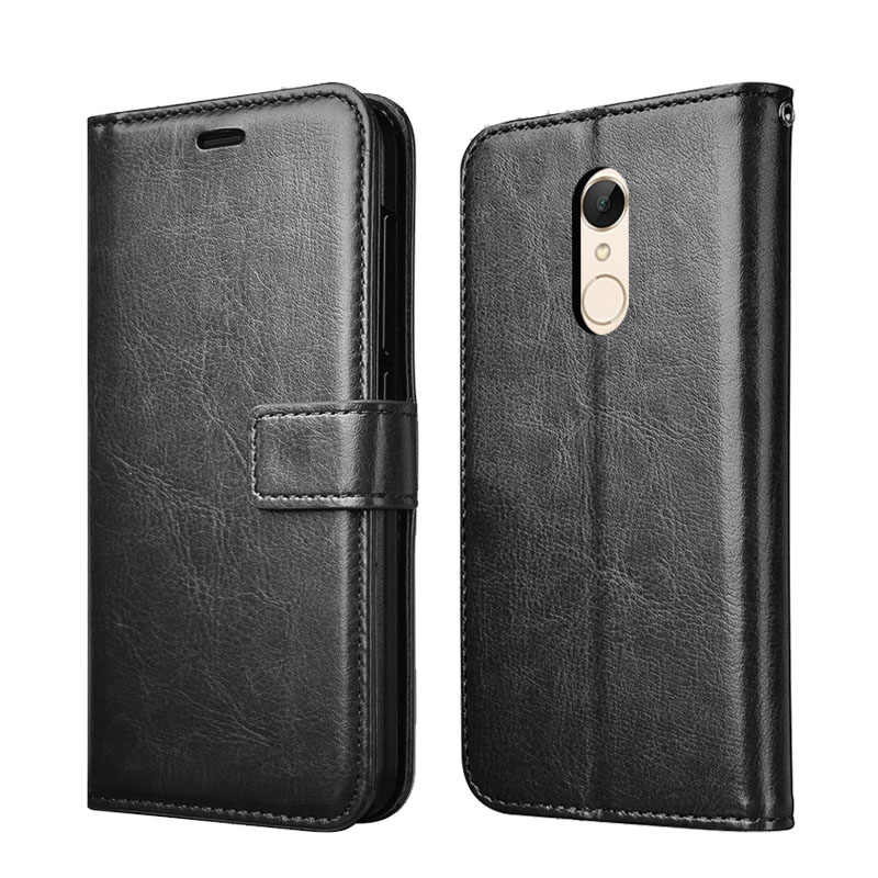 Thouport Case For Xiaomi Redmi Note5 Redmi 5 Plus Leather Cover Flip Wallet Cases For Xiaomi Redmi Note 5 Pro Case Book Style