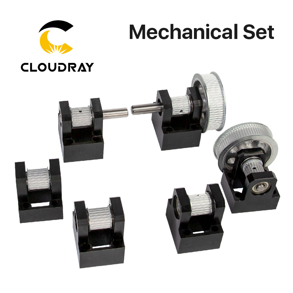 Cloudray LC Gear Base Set Machine Mechanical Parts For Laser Engraving Cutting Machine