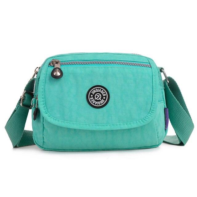 Verão Estilo Mini Bolsa Sacos de Mulheres Mensageiro para As Mulheres Saco de Nylon Impermeável Bolsa de Ombro Senhoras Sacos Crossbody bolsa feminina
