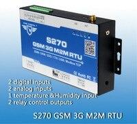 S270 GSM 컨트롤러 원격 GSM 제어 2AIN + DIN + 릴레이 출력 + APP GSM 경보 시스