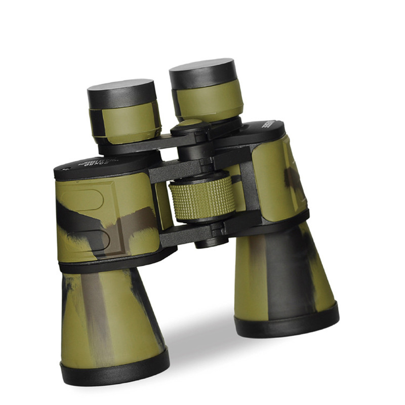 HD 20x50 BAK4 life waterproof optical lens roof prism binoculars high power zoom field glasses long range Professional Hunting