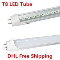 100 шт. T8 светодиодные трубки SMD2835 9 Вт 600 мм светодиодные трубки 85-265 В 2ft LED T8 трубки теплый белый/холодный белый ce и rohs Энергосберегающие led light ...