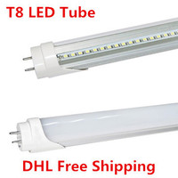 100pcs T8 LED Tube SMD2835 9W 600mm LED Tube 85 265V 2ft LED T8 Tube Warm White/Cold White CE&RoHs Energy saving LED Tube Light