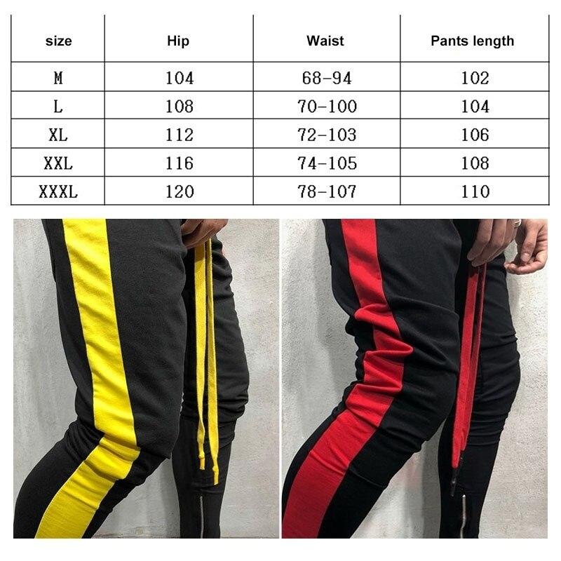 ZOGAA новые мужские спортивные штаны в стиле хип-хоп для фитнеса, бегунов, весенние мужские полосатые длинные штаны в стиле хип-хоп, штаны-шаровары, спортивные штаны