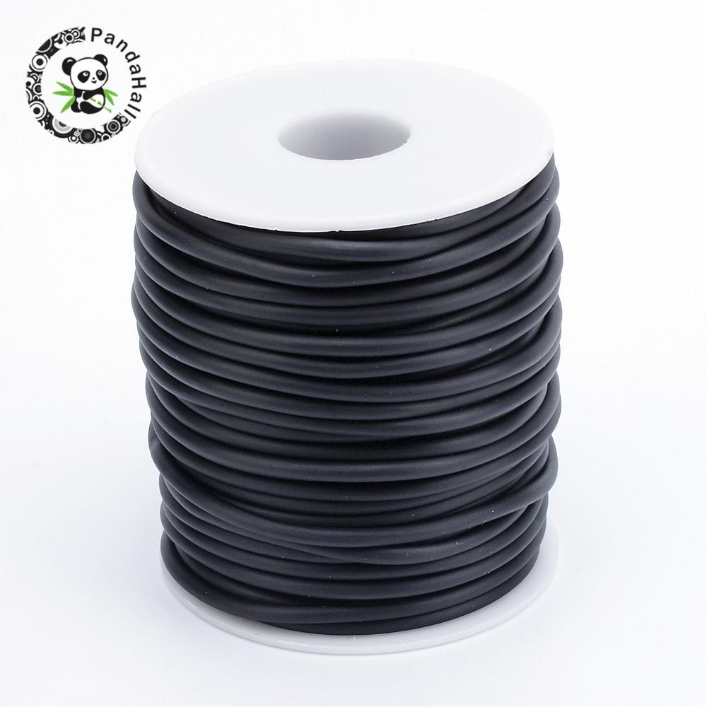 Прочный черный трубчатый резиновый шнур из ПВХ, без отверстия, для ювелирных изделий, для самостоятельного изготовления, 2 мм, 3 мм, 4 мм, 5 мм, Приблизительно 10 м 30 м/рулон|rubber cord|plastic spoolwrapped cord | АлиЭкспресс