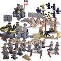 Второй Мировой Войны Набор США Коммандос Братья Команда Морских Цифры Строительные Блоки Игрушки Совместимость с lego