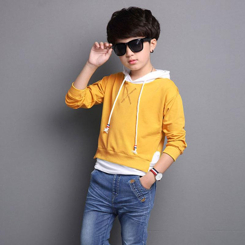 Children Hooded Clothes Girl Boys Clothing Autumn Long Sleeve Top Sweatshirts Casual Toddler Hoodie Costume