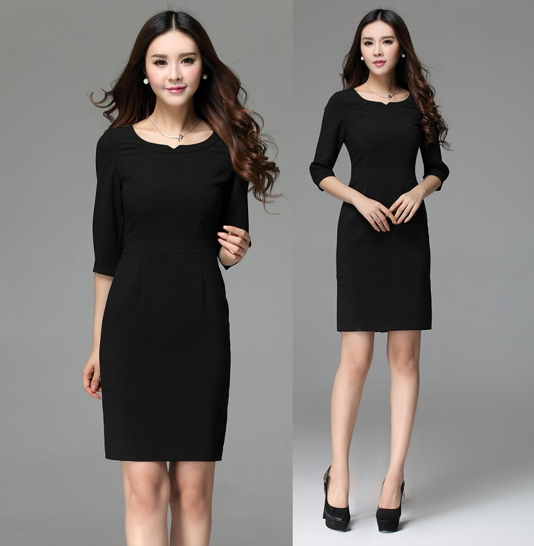 Online Buy Wholesale women career dresses from China women career ...