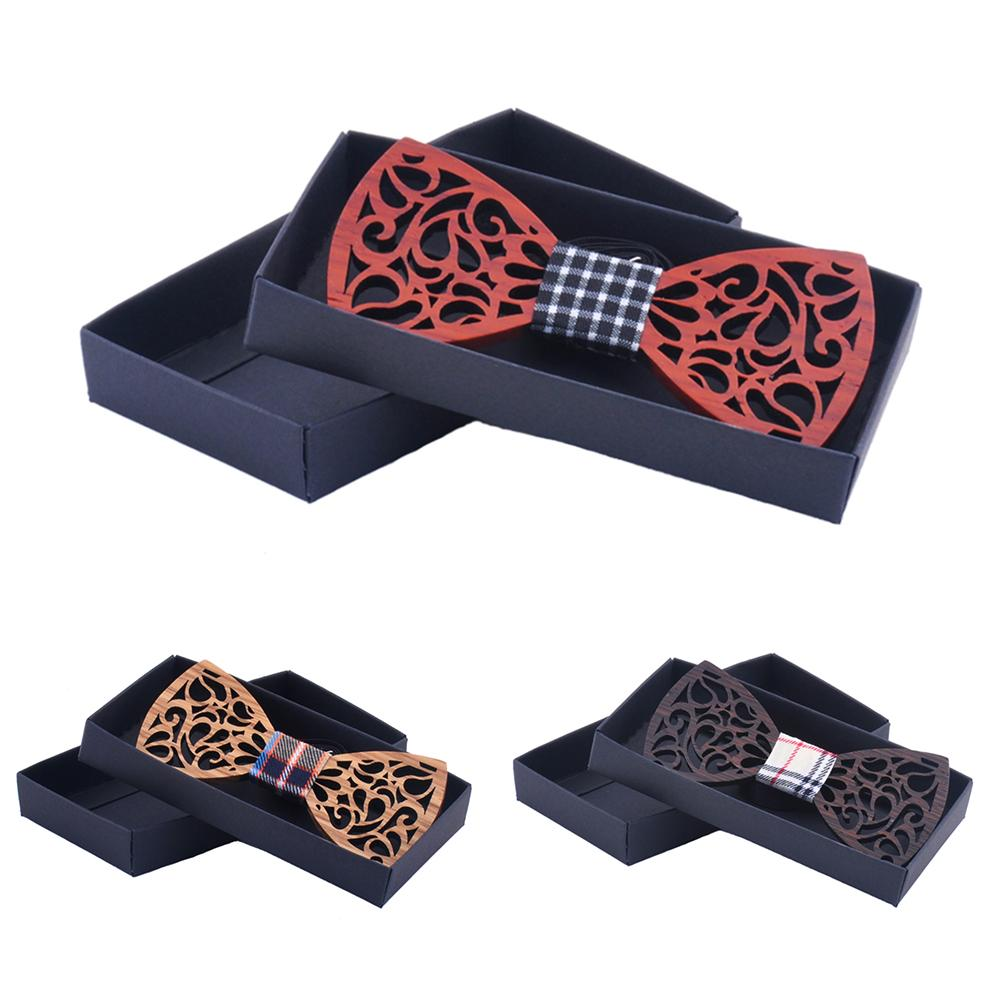 Bow-Tie Vintage Wholesale Women Green For And Purchasing Wooden Hollow-Out Handmade Natural