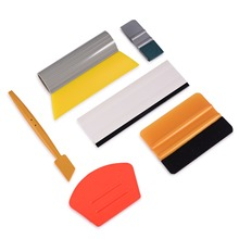 EHDIS Vinyl Wrap Car Tools Kit Micro Magnetic Squeegee Rubber Window Tint Cleaning Scraper Carbon Fiber Film Wrapping Tool
