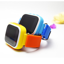 dual color strap 1.44 colorful screen gps location smart watch android pedometer