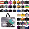 """Fashion Print 14"""" inch Neoprene Notebook Laptop Dual Zippers Case Cover Pouch Bags For Lenovo ThinkPad T430 14.1"""" 14.4"""" Netbook"""