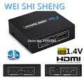 HDCP HDMI Full HD 1080 P Видео HDMI Переключатель Switcher Splitter 1X2 Разделить 1 в 2 Усилитель Двойной Дисплей Для HDTV DVD PS3 Xbox