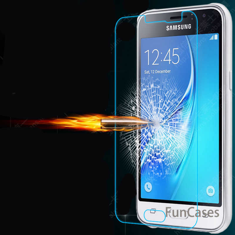 Tempered Glass For Samsung Galaxy J1 J3 J5 J7 A3 A5 A310 A510 J510 2016 Real Premium Screen Protector Toughened Protective Case