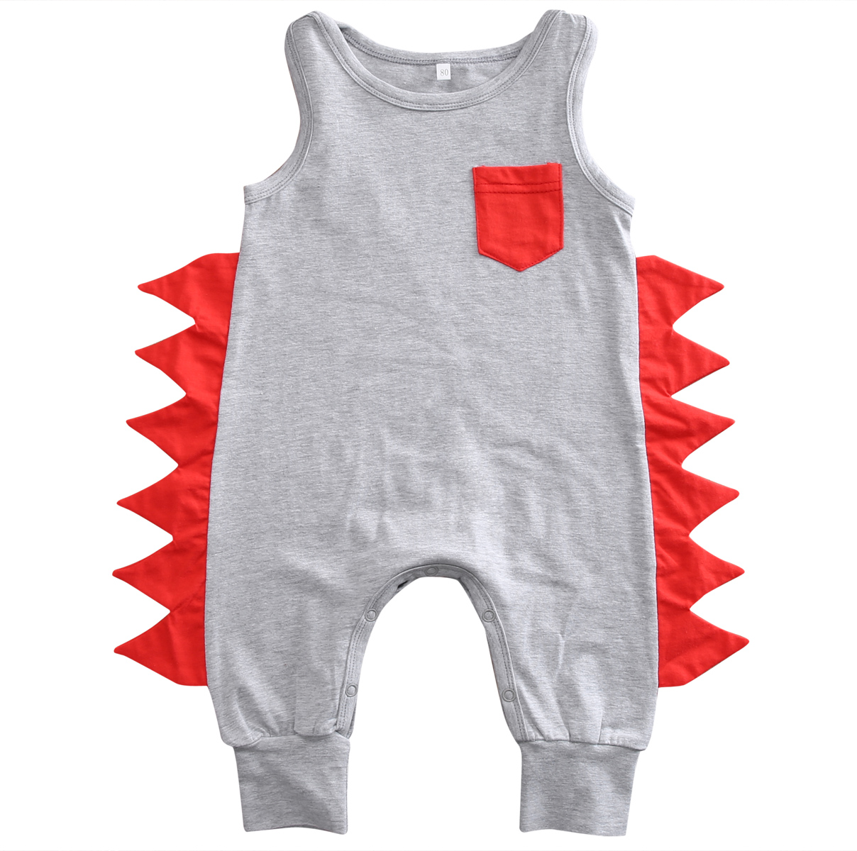 Cotton Dinosaur Romper Baby Clothes Newborn Baby Boy Sleeveless Romper Jumpsuit Playsuit Outfit ...