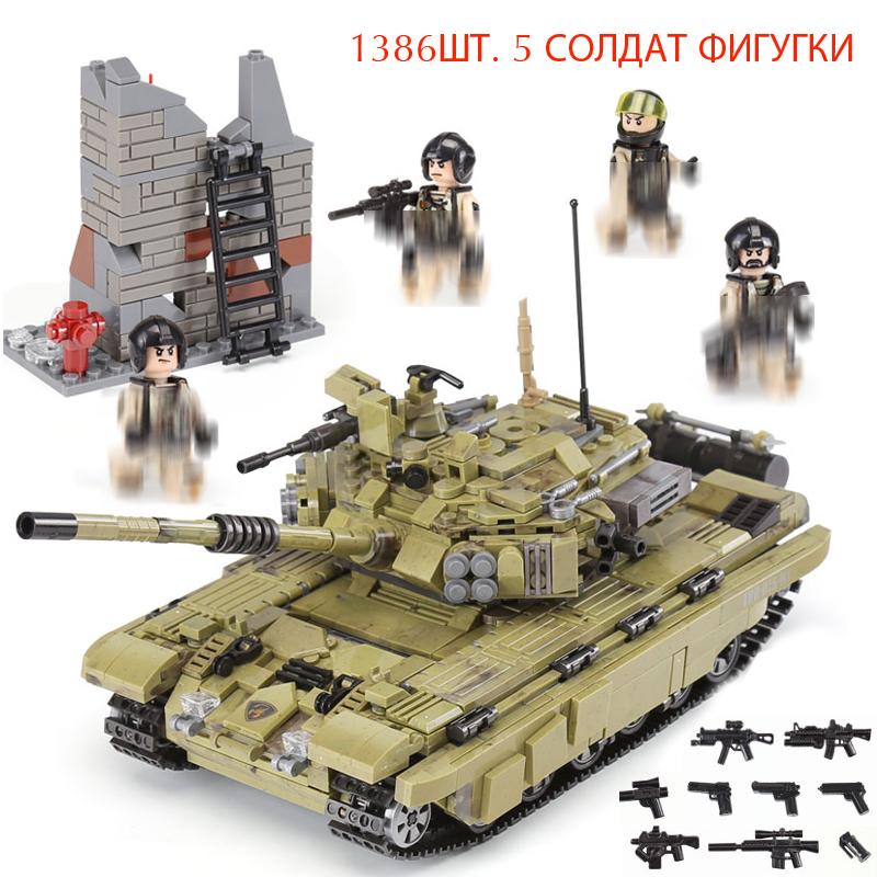 Pandadomik New Military Tank Set Large 1386pcs Building Bricks Kit Weapon Army War Toy Blocks Constructor Legoings Toys for Boys mylb large panzer iv tank 1193pcs building blocks military army constructor set educational toys for children dropshipping