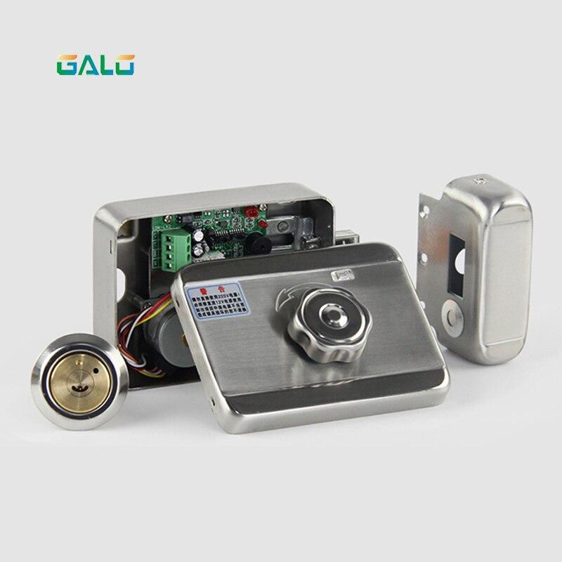 Система безопасности доступа новый электронный дверной замок для дома проводной видеодомофон система безопасности DC12V