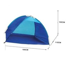 Outdoor camping hiking beach tent uv30 sun protection fully automatic sun shade quick open pop up beach awning fishing shelter