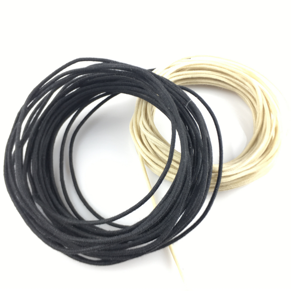 Купить с кэшбэком Vintage Cloth Braided Push Back Wire For Electric Guitar Bass ( #8419 ) MADE IN USA