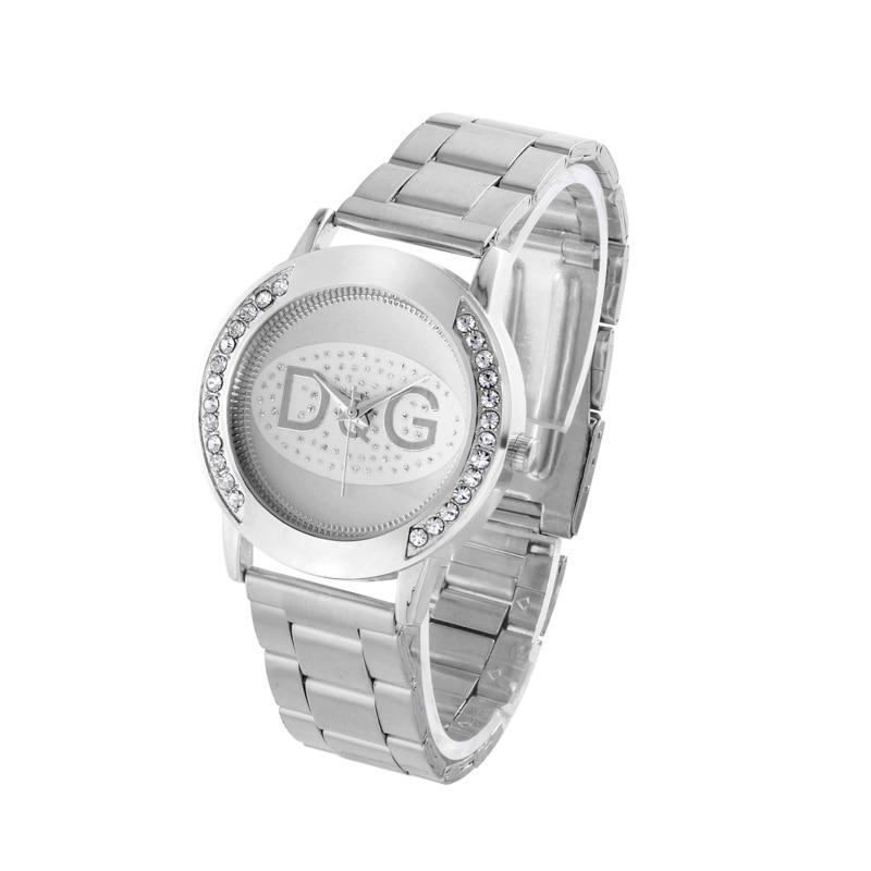 eb3293b0121 Reloj Mujer New Fashion Women Watch Elegant Brand Famous Luxury Stainless  Steel Quartz Watches Relogio 2018 Gift Kobiet Zegarka