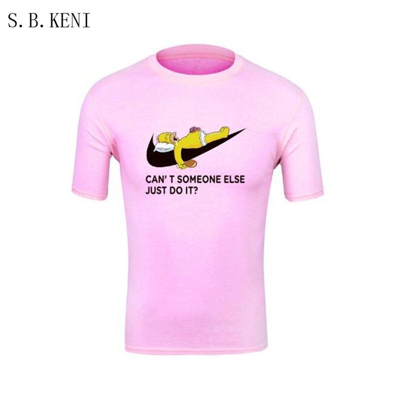 2018 Casual t shirt men car drift just do it Print tops funny Short sleeve t-shirt men Cotton tee shirt mens t shirts fashion