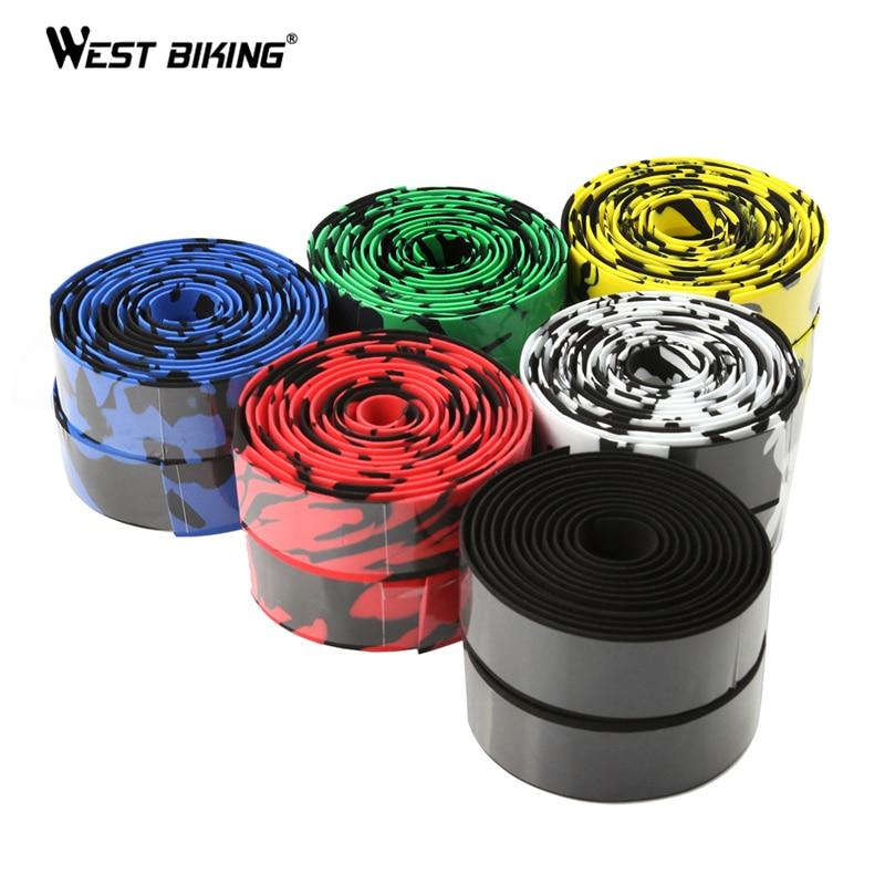 WEST BIKING 2 PCS New Arrival High Quality High-density Colorful Cycling Handle Belt Bike Bicycle Handlebar Tape Wrap