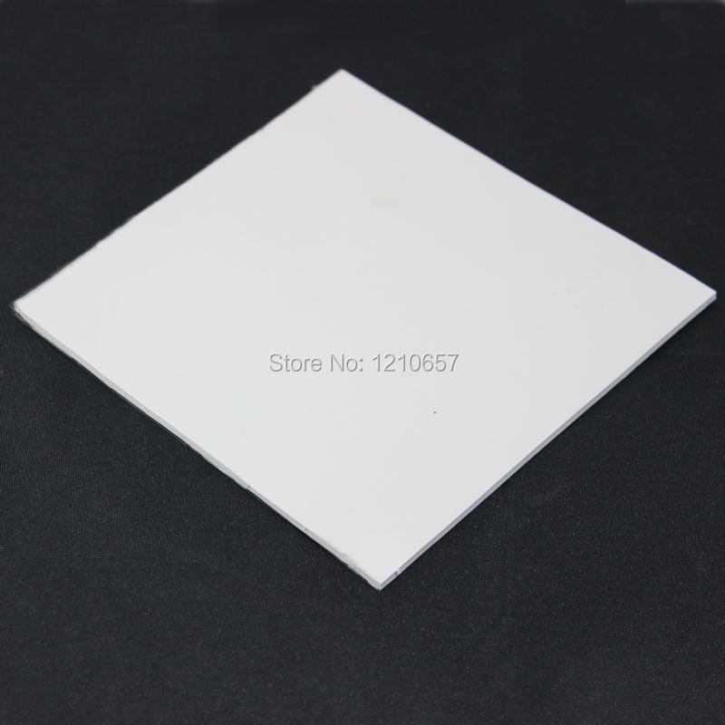 1 Pieces Lot 100 x 100 x 5mm White Silicon Heatsink Cooling Conductive Chipset Thermal Pad 5 pieces lot pw3300b 30l