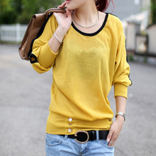 2014 spring and summer new large size Korean women's casual wear thin cotton T-shirt 2XL-6XL