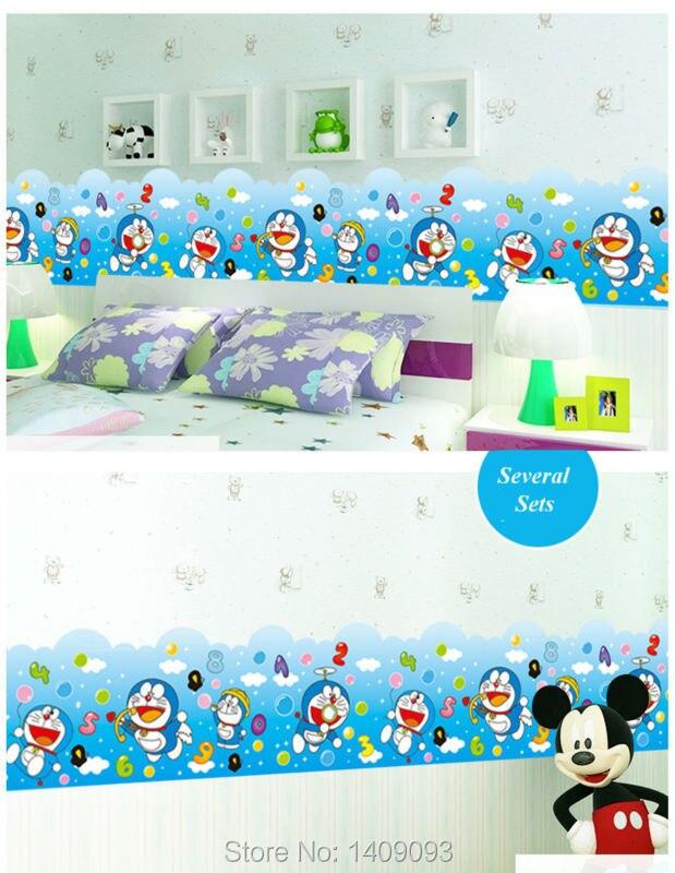 Hot Jual Lucu Doraemon Enviromental Pvc Stiker Dinding Kartun