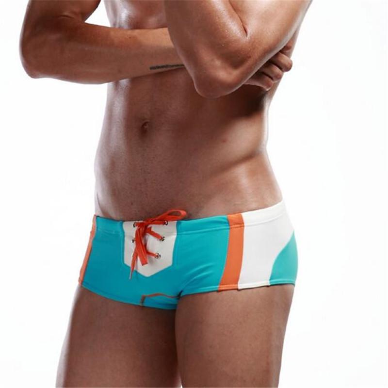 Topdudes.com - Men's Super Sexy Swim Trunks Beach Swimsuit