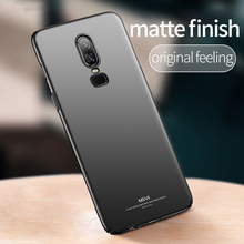 Msvii Luxury fitted Oneplus 6 Case For One plus 6 5 5T Case for Oneplus6 Ultra Thin Slim Cover for Skin PC Anti-knock Protection