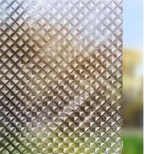 Funlife Static 3d Colorful Glass Sticker Privacy Window Foil Kitchen Sliding Door Balcony Vinyl window film