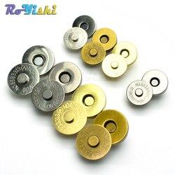Fermoirs magnétiques boutons sac à main sac à main portefeuille artisanat sacs pièces accessoires 14mm 18mm