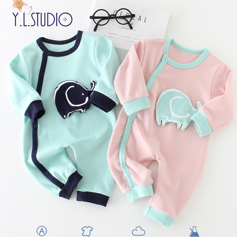 Newborn Boy onesies Winter Overalls For Girls Long Sleeves Animal Print onesie roupa menina Autumn Toddler baby Romper/Jumpsuit girls eyes print romper