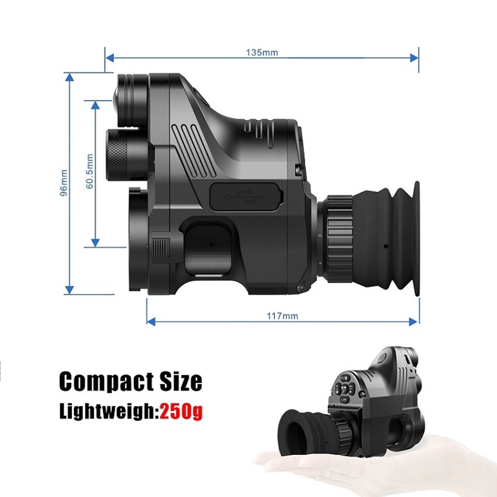 Image 5 - Free Shipp Pard NV007 Digital Hunting Night Vision Scope Wifi APP Telesopes 5W IR Infrared Night Vision Riflescope-in Hunting Cameras from Sports & Entertainment