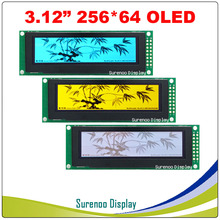 """Real Oled display, 3.12 """"256*64 25664 Dots Grafische LCD Module Display Screen LCM Screen SSD1322 Controller Ondersteuning SPI"""