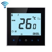 16A 220 V AC LCD Pantalla Táctil Temperatura Electrónico Programable Semanal Suelo Radiante Termostato de Ambiente Regulador de Aire Del Teléfono WIFI