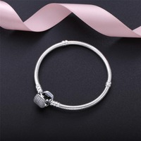 2019 New Fashion jewelry Original authentic 925 sterling silver Bracelet Crystals from Swarovskis Women Wedding Jewelry