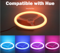 RGB Eye-Care LED Compatible with Hue 1.0 and 2.0 bridge Smart Lamp Control by Wireless APP / Remote Support Touch Control