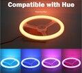 RGB Olho-Cuidado LED Compatível com Matiz 1.0 e 2.0 ponte controle da lâmpada inteligente by app sem fio/controle remoto suporte de toque controle