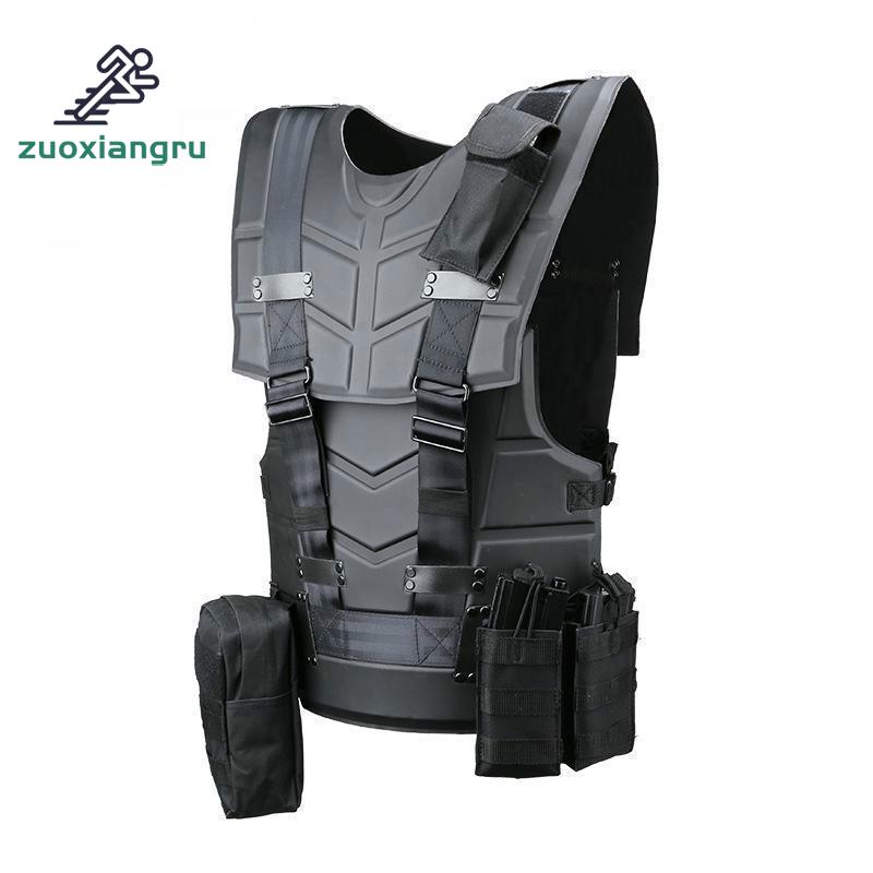 Zuoxiangru Tactical Jpc Plate Carrier Hunting Vest Ammo Magazine Body Armor Rig Airsoft Paintball Gear Loading Bear Army Vest