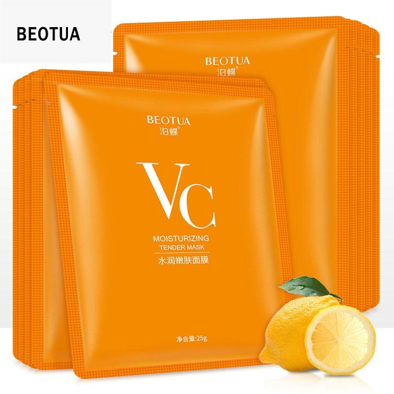 BEOTUA VC Moisturizing Rejuvenation Face Mask High Quality Acne Treatment Oil Control Shrink Pores Moisturizing Vitamin Mask