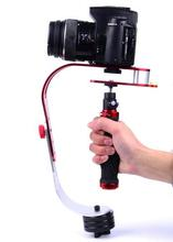 Handheld Gimbal Stabilizer Camera Video Photo Steadicam Stabilizer for Canon Nikon Sony DSLR for Gopro Hero 5 4 SJ6000 Phone DV