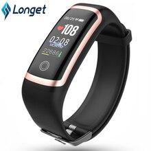 Longet фитнес-часы M4 HR кровяное давление водонепроницаемый смарт-браслет калории спортивный автоматизированный браслет часы для iOS Новый pk fitbits