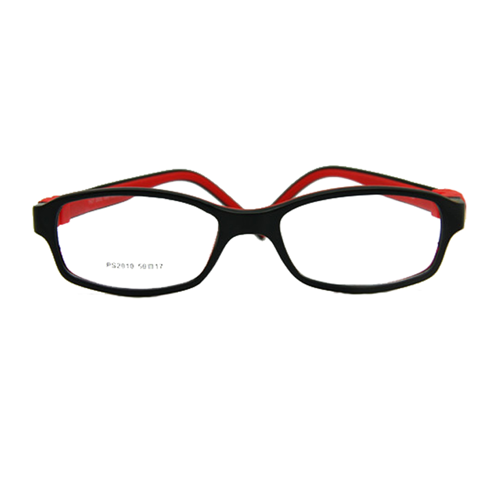 Niños Niñas Gafas Tamaño 50/17 Sin tornillo Flexible de silicona Flexible Estudiante Gafas ópticas Niños Niños Gafas Marco de la correa